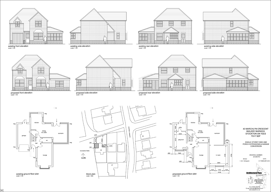 Architectural services in middlesbrough stockton on tees Architectural house plans